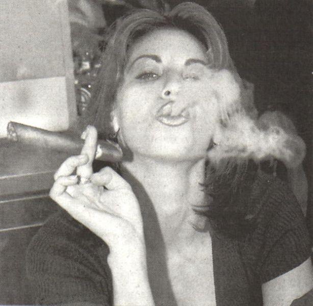 Female celebrities smoking cigarettes nude pics